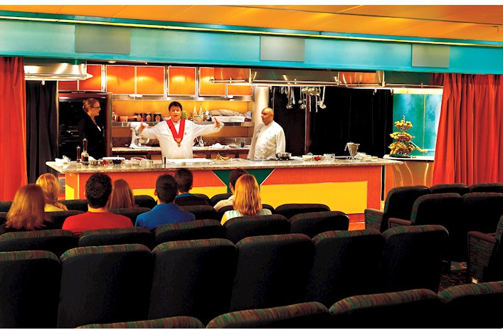 Holland America Line S-Class Interior Culinary Arts Centre Stage 2.jpg